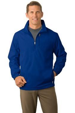 Port Authority Men's 1/2 Zip Wind Jacket S True Blue