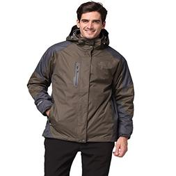 The First Outdoor Men' s 3-in-1 Insulated Jacket Aneto II Si