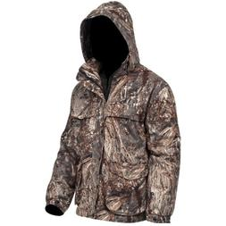 Yukon Gear Men's 3-in-1 Insulated Parka Jacket, Duck Blind C
