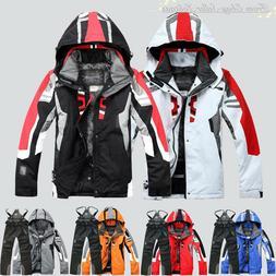 2018 Men's Winter Ski Suit Jacket Waterproof Coat Pantsuits