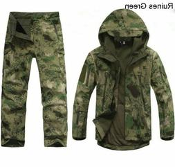 2PCS New Outdoor Winter Hunting Mens Jacket Coat +pants Wate
