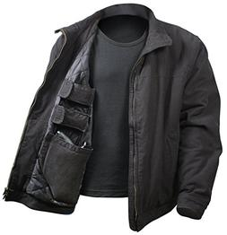 Rothco 3 Season Concealed Carry Jacket, Black, Small