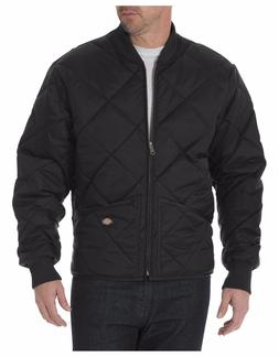 Dickies 61242 Black & Dark Navy Diamond Quilted Nylon Jacket