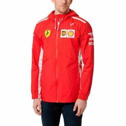 Mens Puma Scuderia Ferrari SF Team Jacket - Rosso Corsa