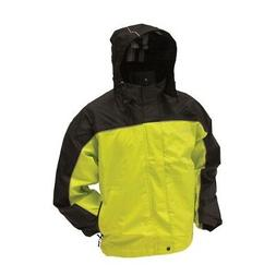 Frogg Toggs Highway Jacket Safety Green / Black XXLarge