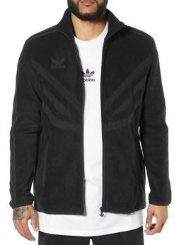 NEW MEN'S ADIDAS ORIGINALS ESSENTIALS FLEECE TREFOIL ZIP HOO