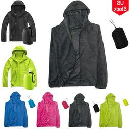 Women Waterproof Windproof Jacket Outdoor Bicycle Sports Rai