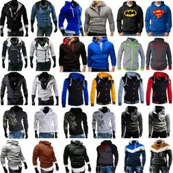 Winter Men's Hoodie Warm Hooded Sweatshirt Coat Jacket Outwe