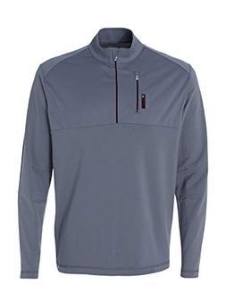 adidas Golf Mens puremotion Mixed Media Quarter-Zip A195 -LE