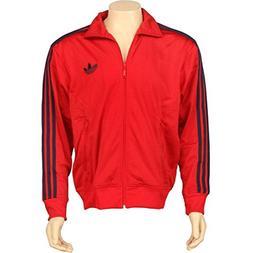 Adidas Adi Firebird Men`s Track Jacket - Light Scarlet / Ind