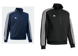 Adidas Men's Essentials 3 Stripe Tricot Track Jacket Medium