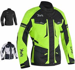Adventure/Touring Waterproof Jacket For Men Textile Motorbik