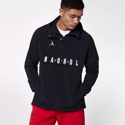 Nike Air Jordan WINGS ANORAK Wind Jacket Pullover Men's Blac