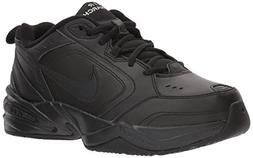 NIKE Men's Air Monarch IV  Athletic Shoe, black/black, 12.5