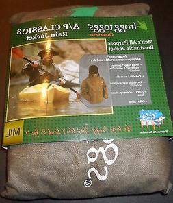 FROGG TOGGS ALL PURPOSE CLASSIC 3 RAIN JACKET SIZE M/L XL/XX