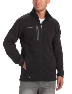 Columbia Altitude Aspect Full Zip Fleece X Large Black Heath