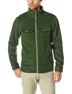 Mountain Khakis Men's Apres Wool Jacket, Rainforest, Small