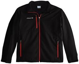 Columbia Men's Big & Tall Ascender Softshell Jacket, Black/M