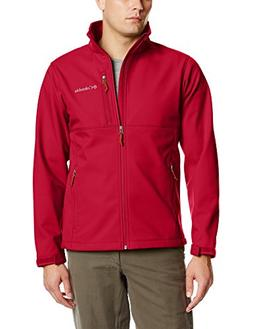 Columbia Men's Ascender Softshell Jacket, Rocket, X-Large
