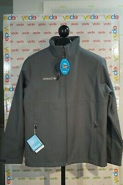 Columbia Men's Ascender Softshell Jacket, Graphite, Medium