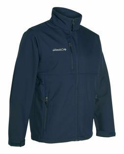 Columbia Men's Ascender Softshell Jacket, Collegiate Navy, M