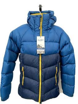 RAB Asylum Jacket Men's DOWN Hooded Puffer 650 Fill Pertex S