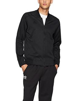 adidas Men's Athletics Sport Id Bomber Jacket, Black/Black,