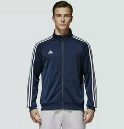 Mens Adidas Essential Tricot 3 Stripe Track Jacket