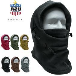 Balaclava Ski Mask 1 hole Full Face Beanie Winter Hat Cap Fl