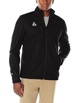 Gerry Men's Basecamp Full Zip Fleece Jacket, Black, Large