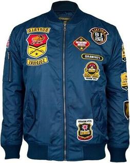 Big Boy Buffalo Soldiers Bomber Flight Mens Jacket