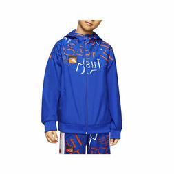 Nike Big Boy's Sportswear Windrunner DJI Jacket Blue CK0958-