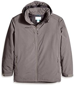Columbia Men's Big & Tall Gate Racer Softshell Jacket, Bould