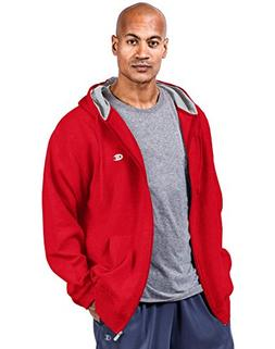 Champion Big & Tall Men's Zip Fleece Hoodie Crimson 3XLT