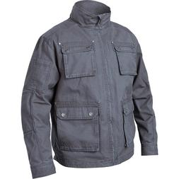Blackhawk Mens Field Jacket Cotton Canvas Color Slate Gray S