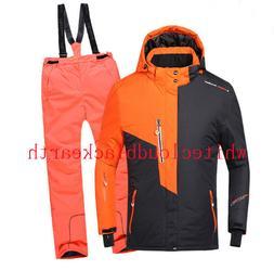Boy GIRL Ski Suit Set Jacket and Pants Waterproof Winter Spo