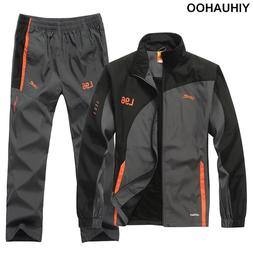 YIHUAHOO Brand Tracksuit <font><b>Men</b></font> Two Piece C
