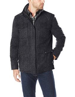 Haggar Men's Brighton Jacket, Charcoal, Medium