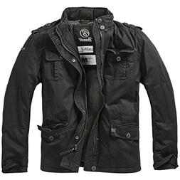 Brandit Men's Britannia Winter Jacket Black size L