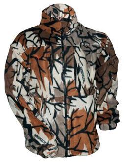Predator Camo Heavyweight Fleece Jacket for Men - Predator F