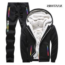 Casual Tracksuit <font><b>Men</b></font> Set 2019 Winter New