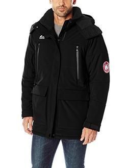 Gerry Men's Cathole Heavy-Weight Insulated Jacket, Black, Me