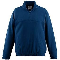 Augusta Sportswear MEN'S CHILL FLEECE HALF-ZIP PULLOVER S NA