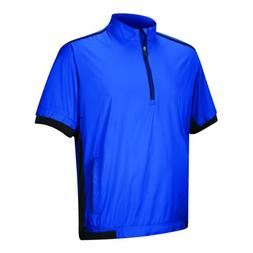 adidas Men's ClimaProof Short Sleeve Windshirt