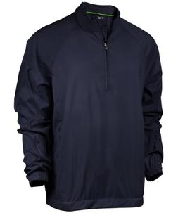 adidas Men's climaproof Wind Half Zip Jacket '12 - Navy - Sm