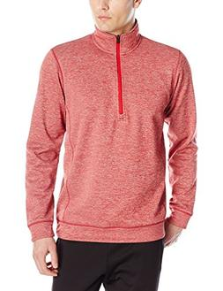 adidas Mens Climawarm Team Issue 1/4 Zip Long sleeve, Power