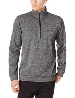adidas Mens Climawarm Team Issue 1/4 Zip Long sleeve, Dark G