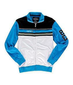 Ecko Unltd. Mens Colorblock Full Zip Track Jacket brighturq