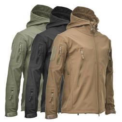 COMBAT Waterproof Tactical Soft Shell Mens Jacket Coat Army