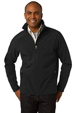 Port Authority Men's Core Soft Shell Jacket M Black